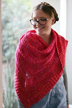 Ravelry: Annie O'day pattern by Amanda Rios  Love making this shawl... great directions...easy to follow