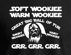 Soft Wookiee Prayer. Big Bang Theory would be jealous. by JedaTees, $14.95