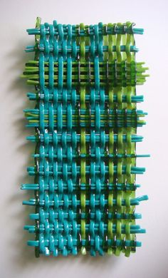 Woven Glass Wall Sculpture    http://youtu.be/Jh6aAFtz4B8