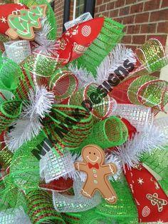 Christmas Cookies - $55 = Made by Nik Nak Designs - Contact me for ordering Info niknakdesignsga@gmail.com