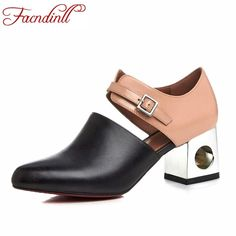 88ea8514559 2017 new sexy pointed toe high heel women pumps genuine leather spring  summer shoes woman fashion dress party casual shoes pumps