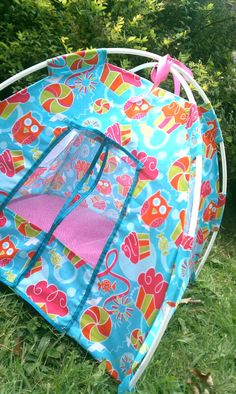 Sugar and Spice American Girl Doll Play Tent by ErinsCorner
