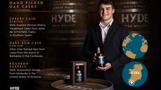 Hyde Irish whiskey cask selection
