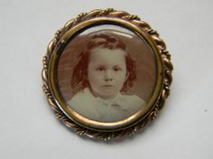 Victorian/Edwardian Mourning Pin of Little by TreasuresFromMaine, $30.00