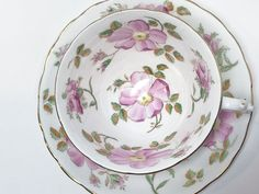 Tuscan Teacup and Saucer, Pink Floral Cups, Antique Tea Cups Vintage, English Bone China Cups, Hand Painted Cups, Vintage Teacups Antique Pink Tea Cups, Tea Cup Set, Tea Cup Saucer, Royal Albert, Antique Tea Cups, Vintage Teacups, Painted Cups, Hand Painted, Vines