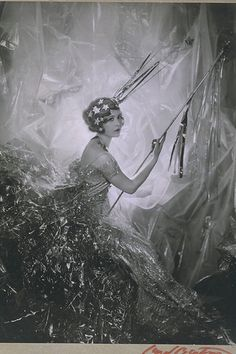 Cecil Beaton, 'Miss Nancy as a Shooting Star', 1928