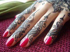 beautiful design for fingers