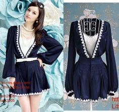 Kawaii Fashion Dolly Cute elegant Shorts Dress onepiece