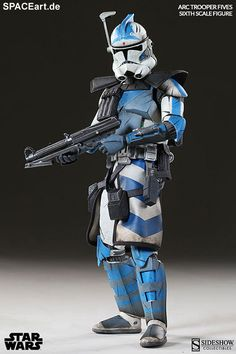 Star Wars: Arc Clone Trooper Fives Phase II Armor, Deluxe-Figur (voll beweglich) ... https://spaceart.de/produkte/sw019.php