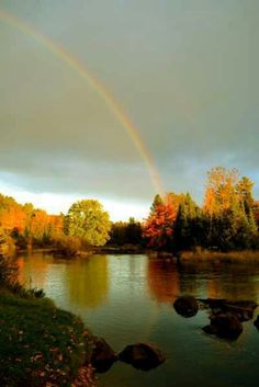 Eagle River from Travel Wisconsin magazine...a great place for a honeymoon!