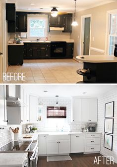 Kitchen Renovation. Professional Installation. Great looking Redo, and a breakdown of where the money goes in a big remodel like this.