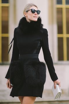 Cool Chic Style Fashion: Street Style   #pfw Spring 2016 #LuceaRow