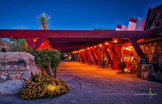 Drafting Studio #franklloydwrightfoundation #taliesinwest #arizona #scottsdale #nightphotography