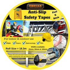 Anti slip floor tapes Stair Nosing, Safety Tips, Indoor Outdoor, Adhesive, Tape, Flooring, Colors, Diy, Bricolage