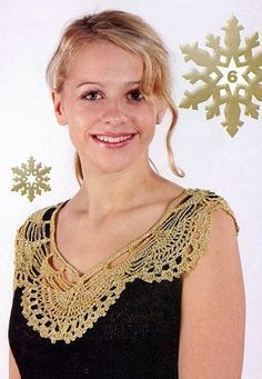 Crochet Yoke/Collar Diagrams