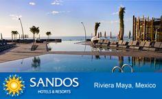 Sandos Hotels & Resorts. Suite Nupcial y todo para tu boda en Playa del Carmen, México