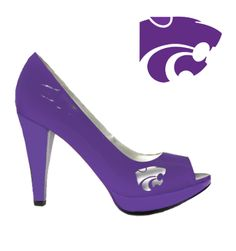 Kansas State Wildcats  - cute shoes
