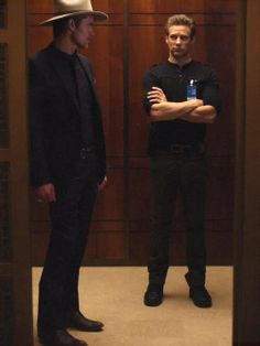 Raylan Givens and Tim Gutterson - Deputy US Marshalls