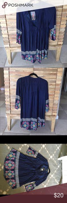 REBORN SIZE XL COLOR NAVY REBORN SIZE XL COLOR NAVY. Great for tunic. Also on mercar❗️ Reborn Dresses Mini