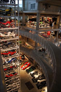 Vintage Motorsports Museum A fraction of the impressive display at Barber Vintage Motorsports Museum in Birmingham, AL.A fraction of the impressive display at Barber Vintage Motorsports Museum in Birmingham, AL. Man Cave Garage, Car Garage, Bugatti, Design Garage, Automobile, Cool Garages, Sport Cars, Motor Sport, Cars And Motorcycles