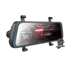 The Acumen XR10 digital rearview mirror is a smart and innovative dashcam that comes with dual-lens 1080P recording