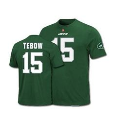 Tim Tebow New York Jets Eligible Receiver Name & Number Tee