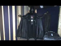 Suiting up as Darth Vader - YouTube