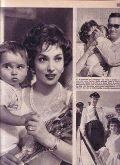 Pagine Pages Gina Lollobrigida TEMPO1958 COD 95836 DM | eBay