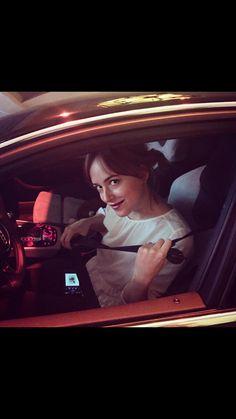 New picture of Dakota on Sunset Blvd in Hollywood from Derek Blasberg Instagram 10/30/15
