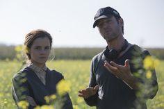 Emma Watson , Colonia Behind the Scene