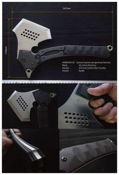 Tomoyuki Nemoto Design SKBDH 01 Sakura Tactical Hatchet Axe