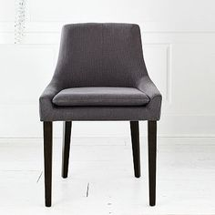 Using an upholstered dining chair as a desk chair -