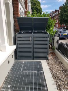 Double slatted Wheelie Bin Tidy Store/Cover/Shed/Storage Unit,