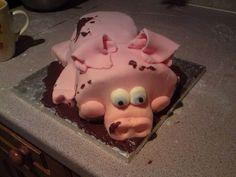 Happy as a pig in mud lol