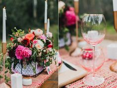 modern garden wedding inspiration - photo by Maple and Elm Photography http://ruffledblog.com/modern-garden-wedding-inspiration