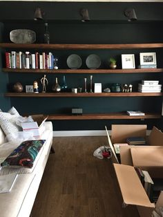 Studio Green, No, Pine Grove Green in the Reading Room. Yeah. | Chris Loves Julia