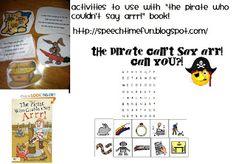 Speech Time Fun: Pirate Fun!
