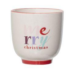 "Cana "" Merry Christmas"" se remarcă prin aspectul estetic, atractiv si modern in acelasi timp. Este o decoratiune in stil danez ce se distinge prin linii simple si design minimalist.  #christmasdecoration #fashion #style #SomProduct Red Christmas, Wine Glass, Tableware, Modern, Design, Home Decor, Life, Dinnerware, Trendy Tree"