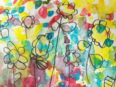 """Art With Mr. E: Flowers for Space - Kindergarten (read """"Fredrick"""" by Leo Lionni)"""