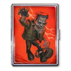 P'gosh Rampage Frankenstein Cigarette Case Business Card Holder Wallet