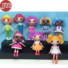 Find More Dolls Information about New 8pcs Lalaloopsy Toys Anime Juguetes Baby Dolls Dollhouse Bonecas 8cm Kids Toys Girl Gift Brinquedos Cake Toppers,High Quality doll star,China toy dolls logo Suppliers, Cheap toys pro from M&J Toys Global Trading Co.,Ltd on Aliexpress.com