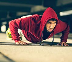 Here's How to Do 100 Pushups Without Stopping