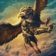 Nobilities Gryphon by JasonEngle.deviantart.com on @DeviantArt