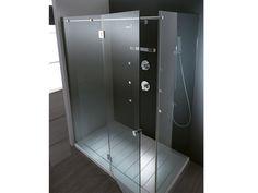 Box doccia rettangolare in cristallo ENDLESS by TEUCO
