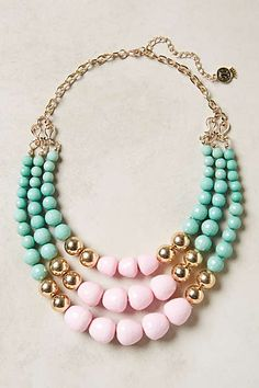 Anthropologie - Currant Layered Necklace