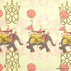➳➳➳☮ American Hippie Art ~ Indian Elephant Pattern Design Wallpaper