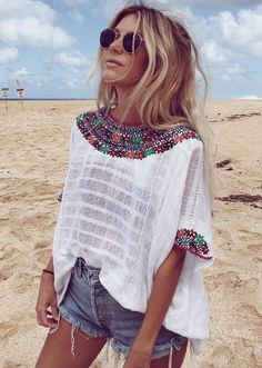 boho girl | beach style inspiration