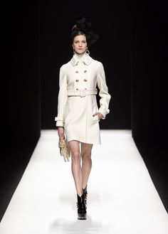 Moschino Fall/Winter 2012-2013 - coat, bag