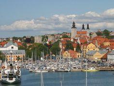 Zu Besuch auf Gotland: der malerische Hafen von Visby