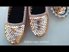 Der Neuen 7 : Balletballet maken op vilten zool no) Crochet Shoes, Crochet Slippers, Knit Crochet, Baby Girl Shoes, Girls Shoes, Lesage, Baby Knitting Patterns, Garter Stitch, Handmade Crafts